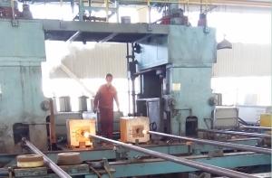 石油钻杆端部热墩
