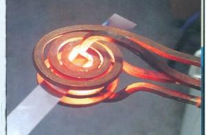金属带条退火