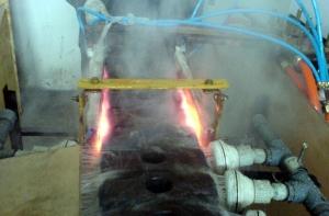 锤面高频淬火