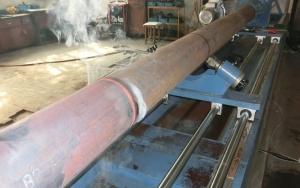 砼泵管内壁超音频淬火专用成套设备有哪几部分组成?特点是什么?